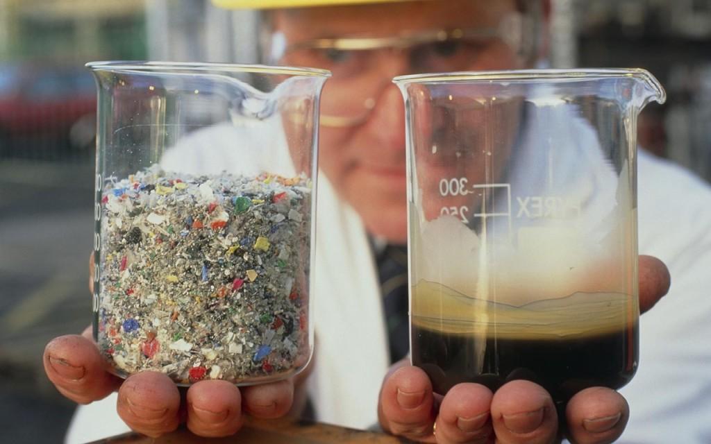 Как сделать бензин из пластика