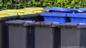 Страны лидеры по переработке мусора